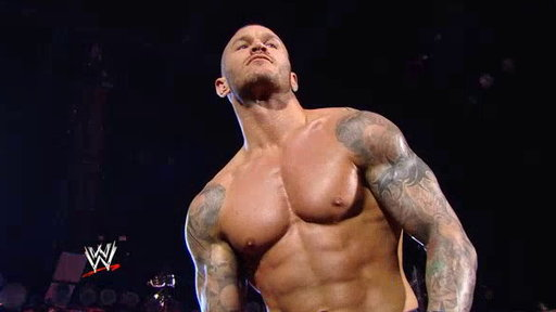 Tag Team Title Match: Batista and Randy Orton vs. the Usos