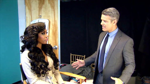 S6E23 Andy Cohen Asks Porsha Williams to Leave