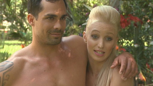 Dating Naked Couple Preps for Wedding with Naked Yoga