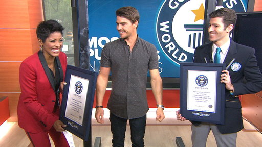 S0E0 Athlete Sets 2 Guinness Records for Pull-Ups