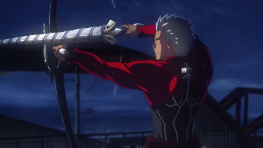 Fate/stay night: Unlimited Blade Works (JP) S01E04 (Sub) The First Battle