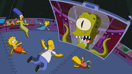 S26E10 The Simpsons in Space