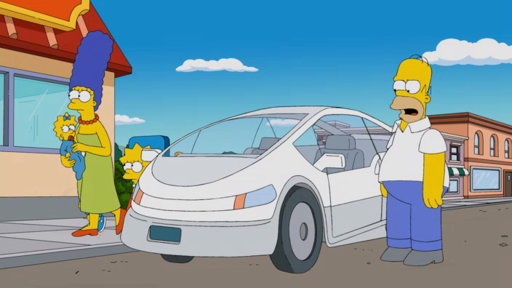 S26E12 The Simpsons' New Car