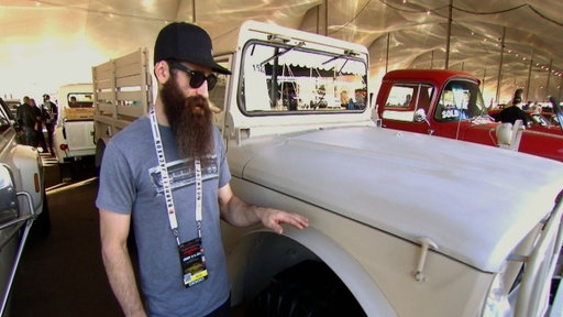 Aaron Kaufman Checks Out the Lot at Barrett-Jackson