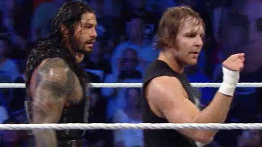 Dean Ambrose and Roman Reigns vs. Seth Rollins and Kane