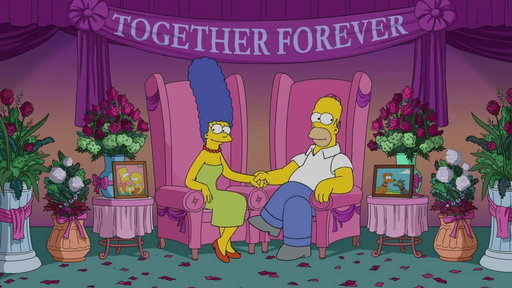 S26E0 Homer and Marge, Together Forever