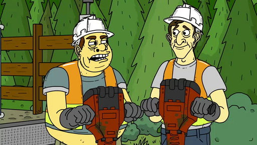 S1E3 Where's My Jackhammer?